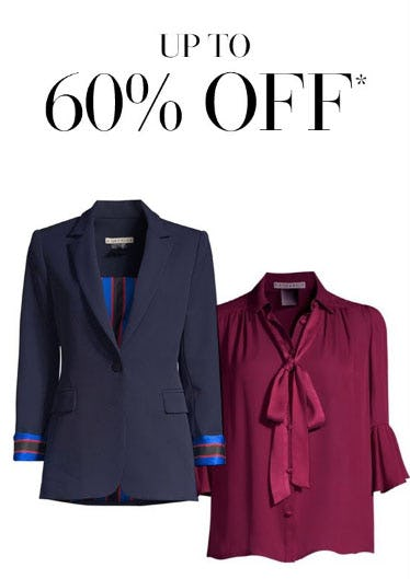 Up to 60% Off Wear-To-Work Pieces
