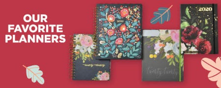 Our Favorite Planners from Books-A-Million