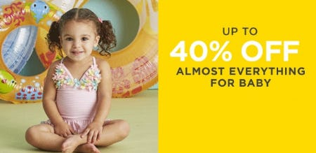 Up to 40% Off Almost Everything for Baby from Lord & Taylor