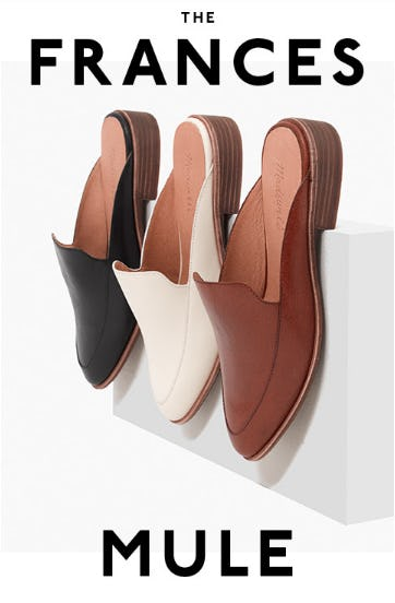 The Frances Mule from Madewell