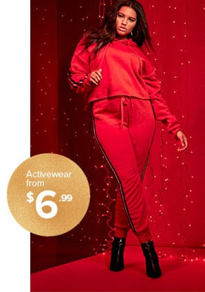Activewear from $6.99 from Rainbow