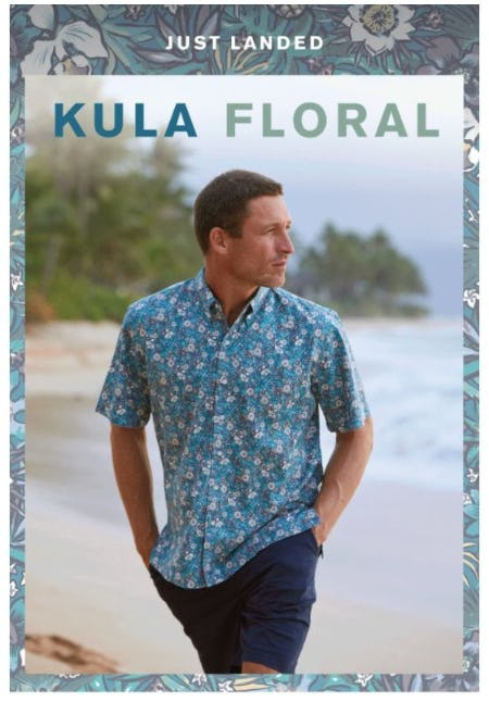 A Lush New Arrival from Maui from Reyn Spooner