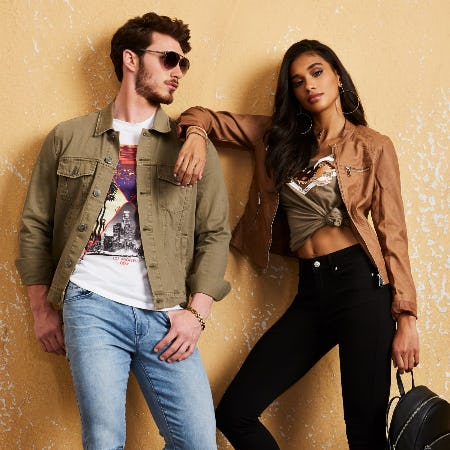 Buy One, Get One 50% OFF All Tees! from G By Guess