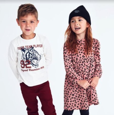 Kids Fall Favorites from H&M