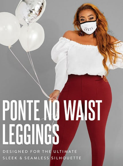 Ponte No Waist Leggings