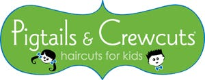 Pigtails & Crew Cuts Logo