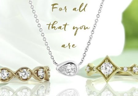 A Diamond for Each of your Qualities from Ben Bridge Jeweler