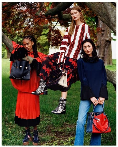 Introducing the Lee Radziwill Double Bag from Tory Burch