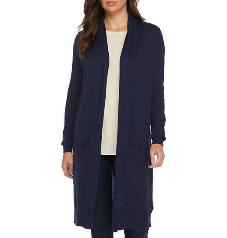 MICHAEL Michael Kors Extra Long Easy Cardi Sweater