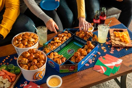 Pretzel Snacks for the Big Game