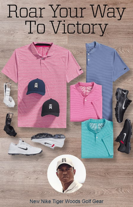 New Nike Tiger Woods Golf Gear from Golf Galaxy