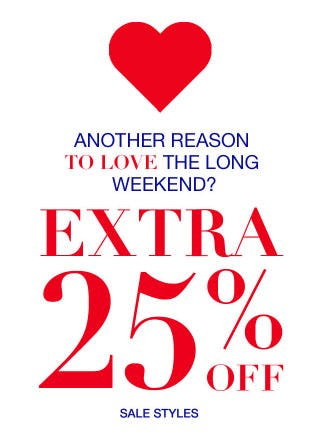 Extra 25% Off Sale from Everything But Water