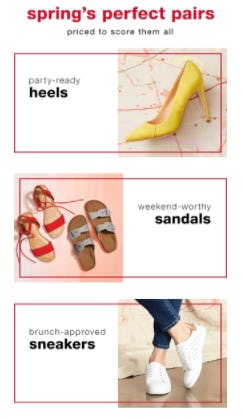 Spring's Perfect Pairs from TJ Maxx