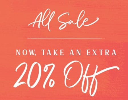 Extra 20% Off All Sale from Altar'd State