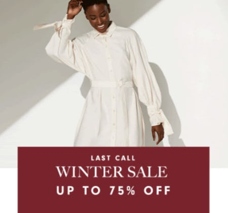 Winter Sale Up to 75% Off from Neiman Marcus
