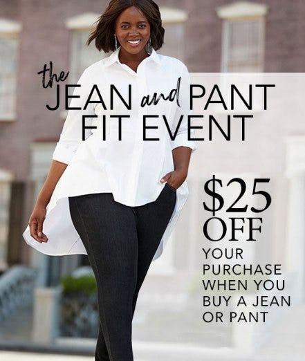 The Jean and Pant Fit Event from Lane Bryant