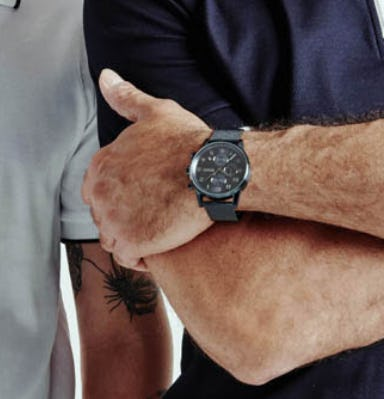 Our Blue-Plated Boss Watch from Boss