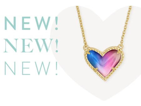 New Ari Heart in Watercolor Illusion Combo from Kendra Scott