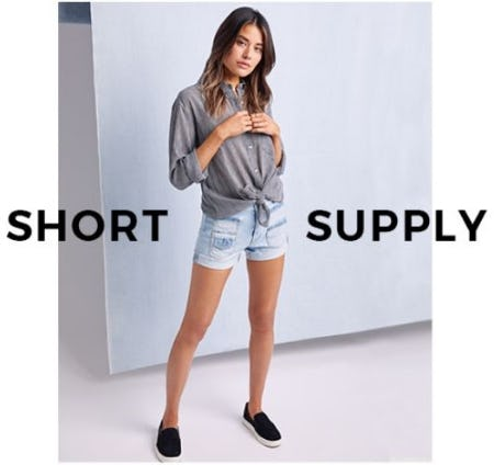 Shorts for You from 7 for All Mankind