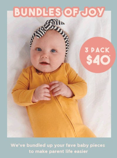 3 Pack $40 from Cotton On Kids