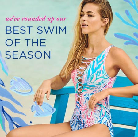 Our Best Swim of The Season from Lilly Pulitzer