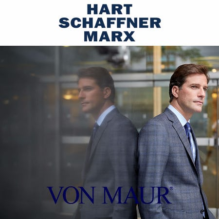 Hart Schaffner Marx Made-to-Measure Days from Von Maur