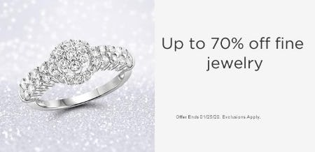 Up to 70% Off Fine Jewelry from Sears