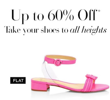 Up to 60% Off Shoes from Saks Fifth Avenue