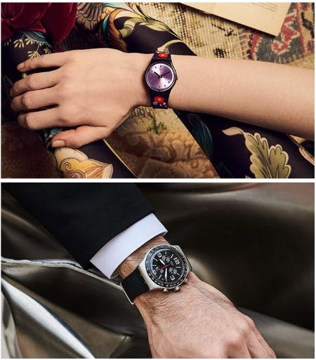 Perfect Gifts for Him & Her from Swatch
