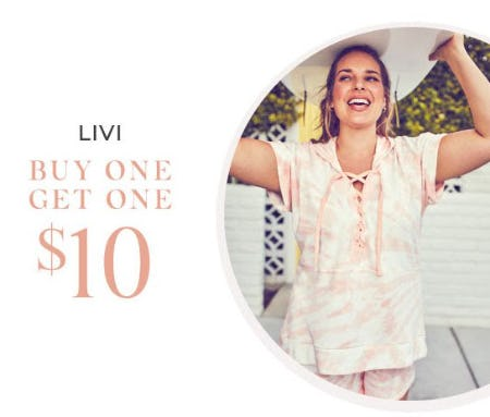 LIVI Buy One, Get One $10 from Lane Bryant