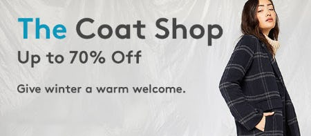 Up to 70% Off The Coat Shop from Nordstrom Rack