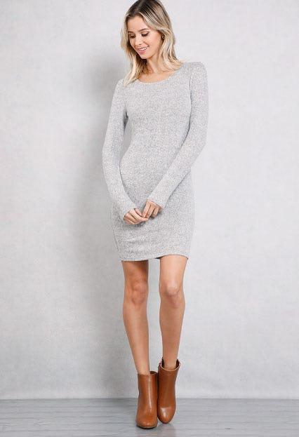 Basic Mini Bodycon Dress