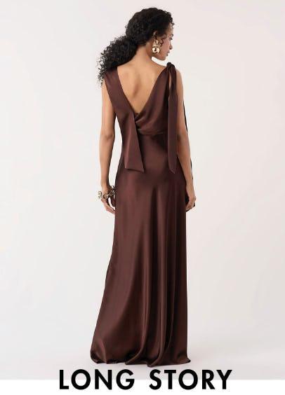 Floor-Grazing Dresses from Diane von Furstenberg