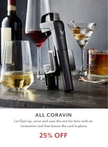 25% Off Coravin Sale from Sur La Table
