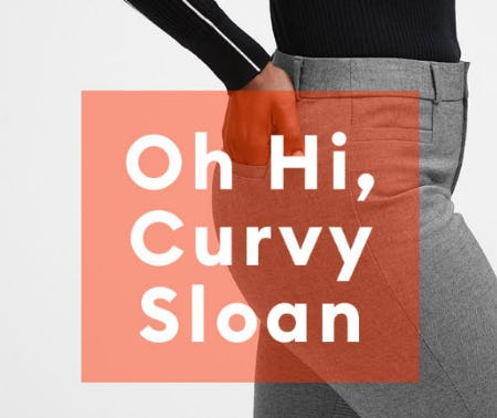 New Curvy Sloan Fit from Banana Republic