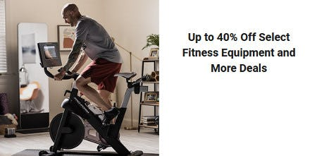 Up to 40% Off Select Fitness Equipment and More Deals from Dick's Sporting Goods