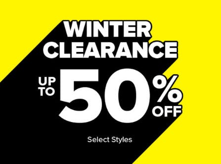 Up to 50% Off Winter Clearance from Rainbow