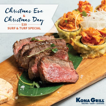 A Very Kona Christmas from Kona Grill