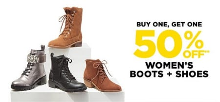 BOGO 50% Off Women's Boots & Shoes from Lord & Taylor