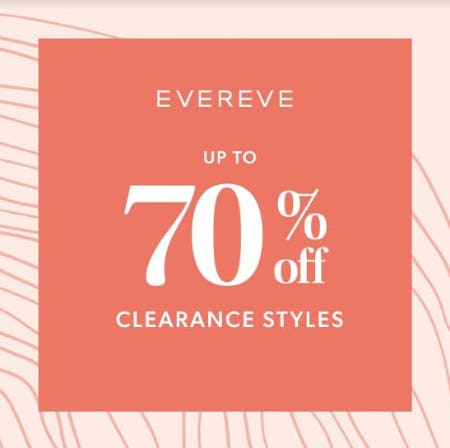 EVEREVE Clearance Sale from Evereve
