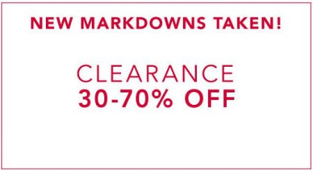 Clearance 30-70% Off from Lane Bryant