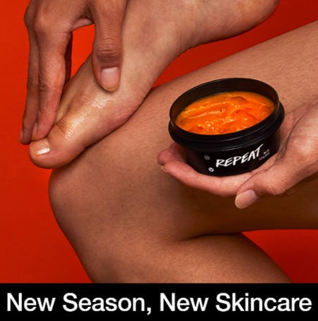 Step Into Fall With Repeat Orange Foot Balm
