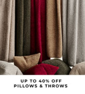 Up to 40% Off Pillows & Throws from Pottery Barn