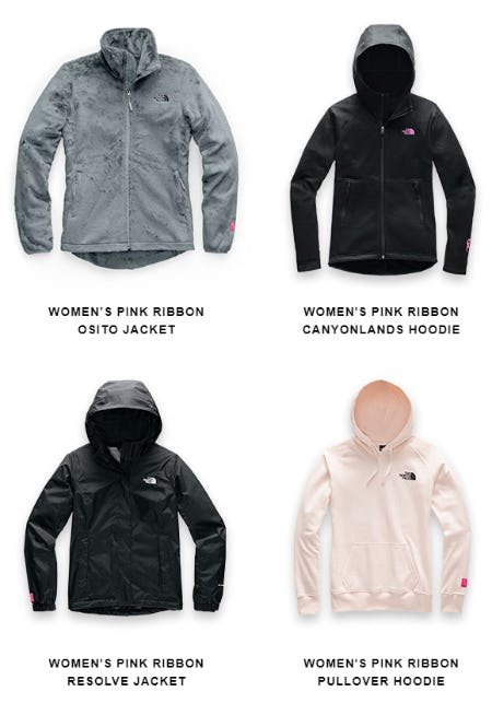 Introducing Our Latest Pink Ribbon Collection from The North Face