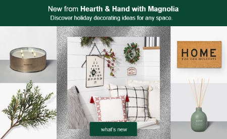 New from Hearth & Hand with Magnolia