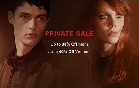 Private Sale