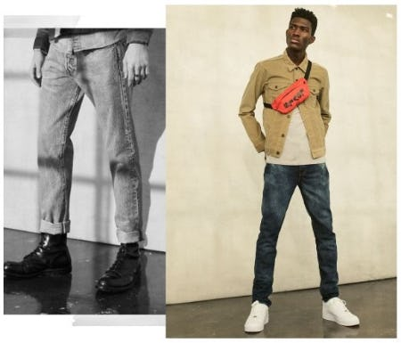 Upgrade to Tapered Jeans from The Levi's Store