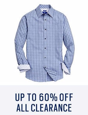 Up to 60% Off All Clearance