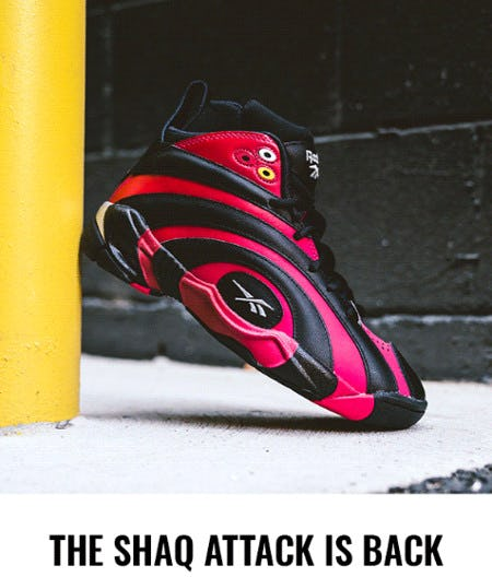 The Reebok Shaqnosis 'Damenosis' Adds a Twist to Classic Kicks from Champs Sports/Champs Women