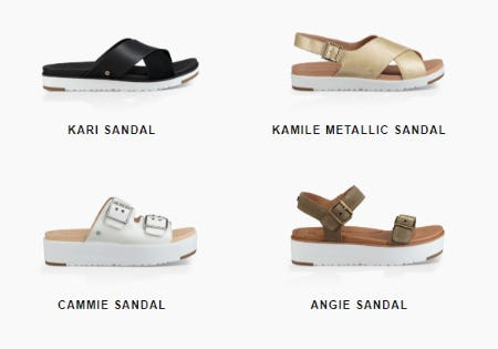 Vacation Sandals from Ugg